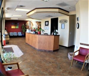 Roseville Diagnostic Hearing Center lobby
